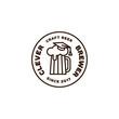 Clever brewer logo