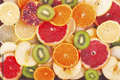 fruit-textures-kiwi-orange-grapefruit