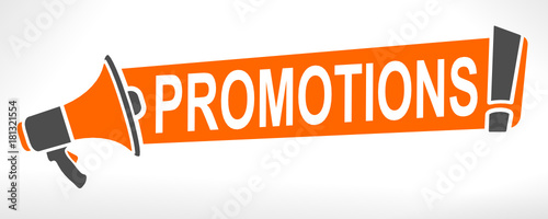 Fotografía  promotions sur mégaphone
