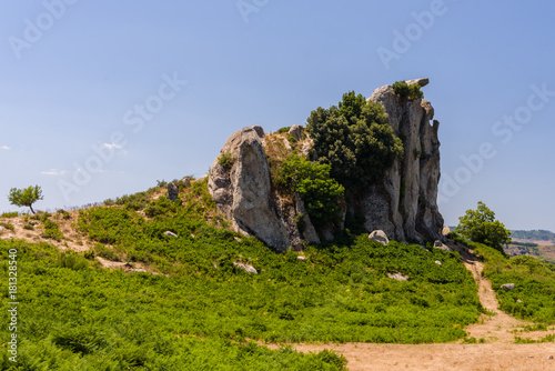 Photo sur Aluminium Ile Rock formations of Argimusco near Montalbano Elicona, Messina, Sicily, Italy. Megalith.