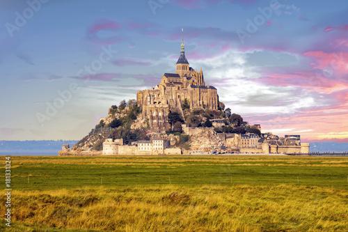 Fotografia Le Mont saint Michel, Normandie, Manche, Cotentin, France