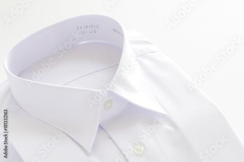 Staande foto Dragen white shirt on white background
