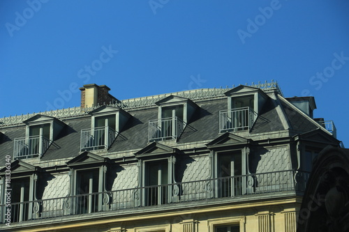 Mansard Windows On The Roof Of The House Buy This Stock Photo And Explore Similar Images At Adobe Stock Adobe Stock