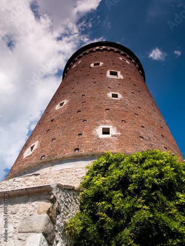 Fototapeta Średniowieczna wieża zamku obraz