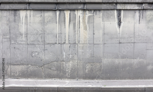 Poster Graffiti concrete wall, fence, texture, big resolution