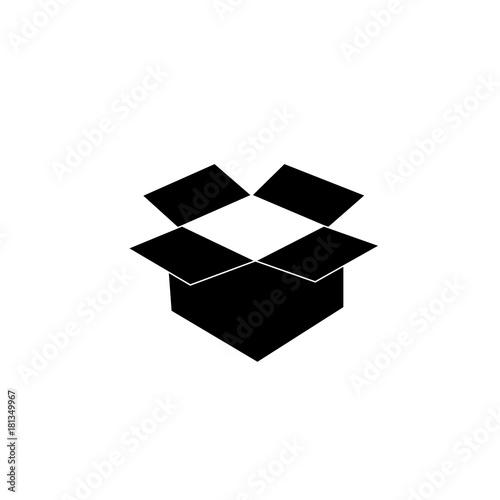 Open Box Symbol Symbol Of Packaging Vector Illustration Buy
