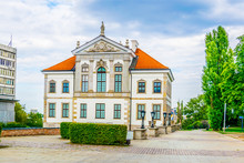 Frederic Chopin Museum At The Ostrogski Palace Building In Warsaw, Poland