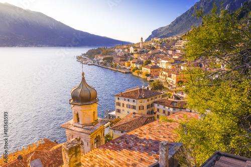 Obraz na plátně Limone sul Garda, Garda Lake, Brescia province, Lombardy, Italy