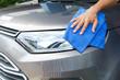 Car washing in the car wash shop