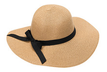 Womens Summer Yellow Straw Hat...