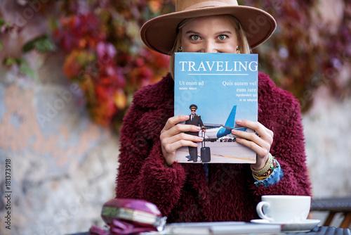 I am fold of traveling Canvas-taulu