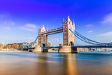 Fototapeta Londyn - Tower Bridge of London