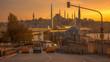 Sundown at Istanbul City