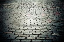 Old New York City Cobblestone ...