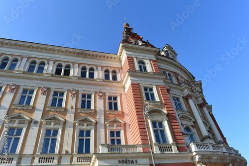 Fotografie, Obraz  Historische Gebäude in Karlsbad (Karlovy Vary) Tschechien