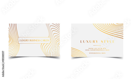 White gold luxury business cards for vip event elegant greeting white gold luxury business cards for vip event elegant greeting card with royal golden dots m4hsunfo