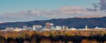 Sunlit Skyline Of Boise Idaho ...