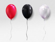 Set Colors Helium Balloon. Bir...