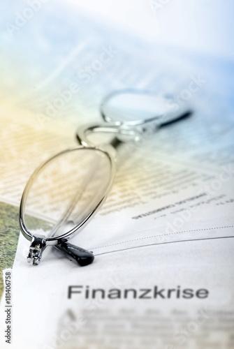 Fotografía  Finanzkrise - Symbolfoto