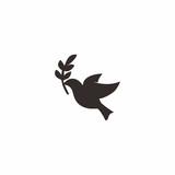 Dove Peace Logo Icon