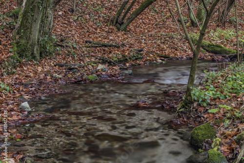 Bansky creek near Spania Dolina village Canvas Print