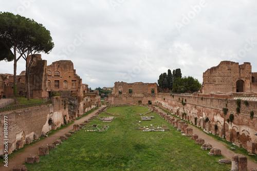 Obraz na plátně Palace of the emperor Domitian