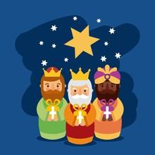 Feliz Dia De Los Reyes Three M...