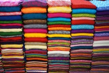 Colorful Silk Fabric For Sale ...