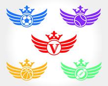 Vintage Sport Victory Illustra...