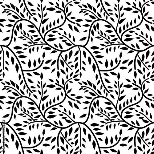 Fototapety, obrazy: Seamless liana pattern
