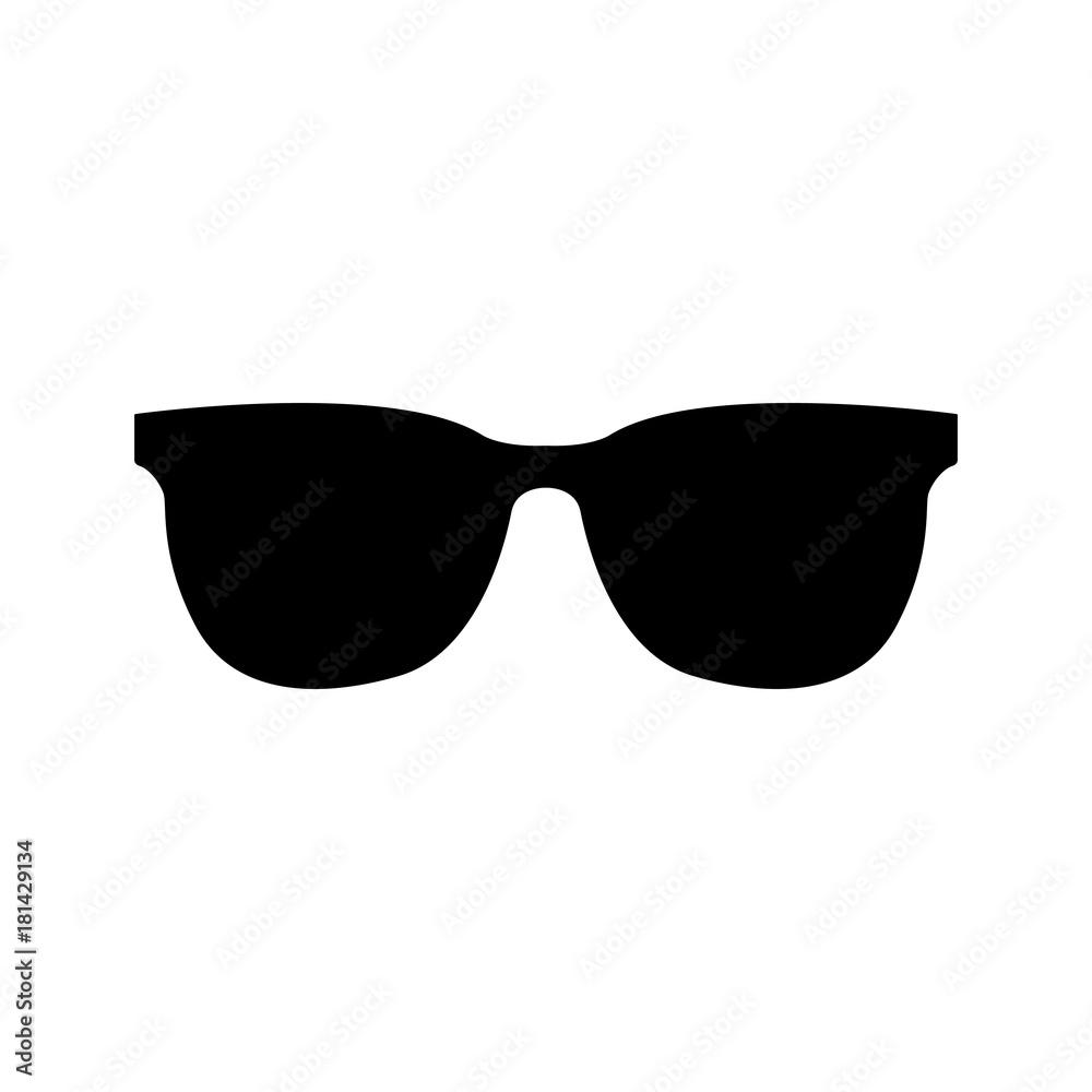 Fototapeta Sunglasses icon vector illustration