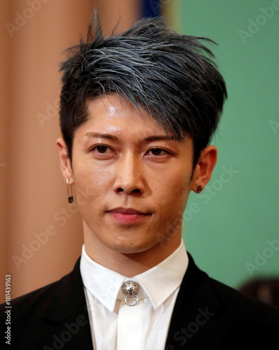 Japanese Musician Miyavi Is Seen As He Is Appointed As The First