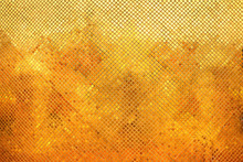 Golden Diamond Mosaic Tiles For Texture Background