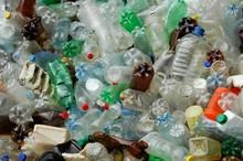 Many Plastic Bottles Thrown Ou...