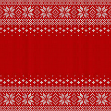 Knitted Seamless Background Wi...