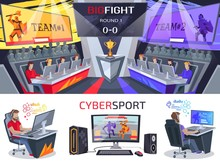 Cybersport Big Fight Poster In...