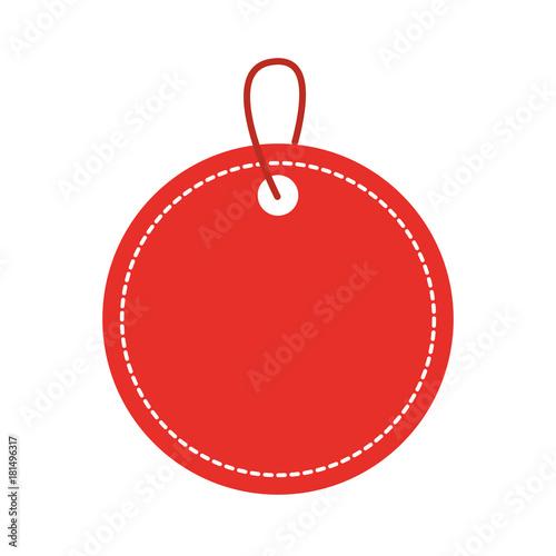 Fototapeta blank tag icon image obraz
