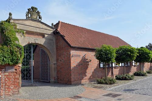 Fotografie, Obraz  altes adliges Fräuleinstift in Barth Fischland