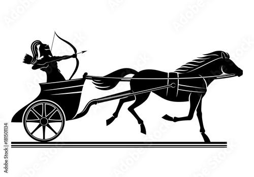 Photo War chariot sign.