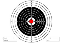 Vector Target For Rifle And Ar...