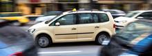 German Taxi Cab Speeding In Th...