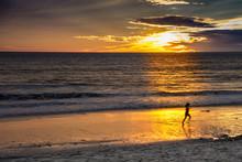Carlsbad State Beach, Sunset