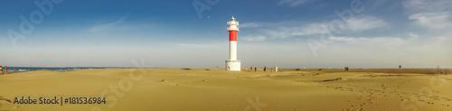 Montage in der Fensternische Leuchtturm Panoramic view of Lighthouse