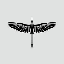 Herons Logo Template