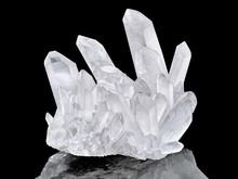 Pure Quartz Crystal Cluster Is...
