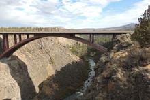 Highway Bridge Across Crooked ...