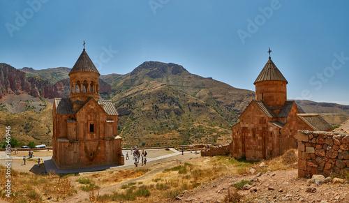 Photo NORAVANK MONASTERY, ARMENIA - 02 AUGUST 2017: Noravank Monastery in Armenia