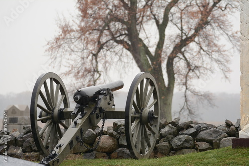 Plakat Union Cannon At Gettysburg