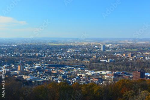 Obraz Bethlehem, Pennsylvania on a Sunny Day - fototapety do salonu