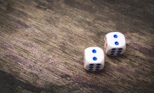 Two Game Dice Number Double Two